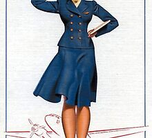 Flight Attendant by Vintagee