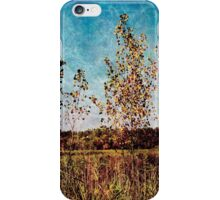 Textural Trees iPhone Case/Skin