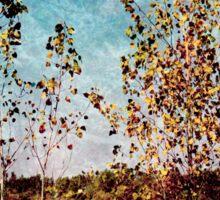 Textural Trees Sticker
