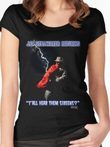 Y'all Hear Them Sireens? Women's Fitted Scoop T-Shirt