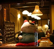 Miyajima kitty by Kyra  Webb