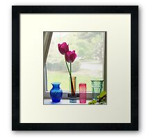 Looking Out - 1201 views as of 1/10/15 Framed Print