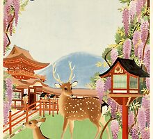 Japan and Deer by Vintagee