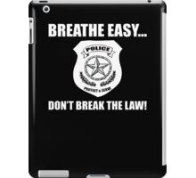Breathe Easy iPad Case/Skin