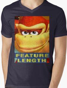 Feature Length Mens V-Neck T-Shirt