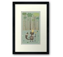 The King of the Wood Framed Print