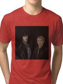 SHERLOCK BBC Tri-blend T-Shirt