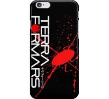 Terraformars vertical logo iPhone Case/Skin