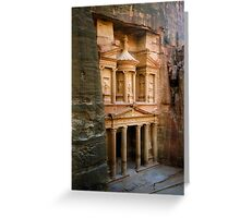Petra Greeting Card
