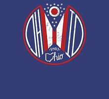Distressed Deco Ohio Seal Unisex T-Shirt