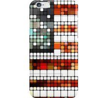 Retro Abstract American Flag iPhone Case/Skin