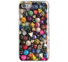 All the dice iPhone Case/Skin