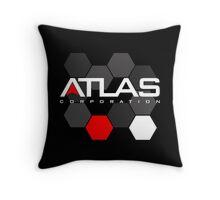 Atlas Corporation Throw Pillow