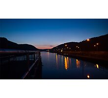 ship canal Photographic Print