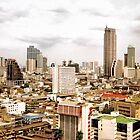 Bangkok Skyline by nicholaspr