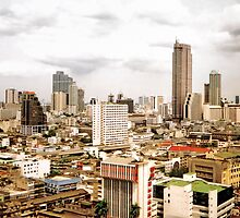 Bangkok Skyline by Nicholas Richardson