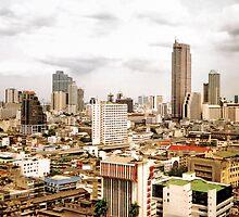 Bangkok Skyline by Nicholas Richardson