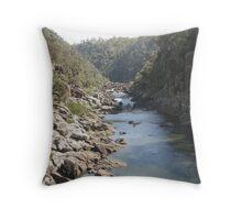 Launceston Gorge Throw Pillow