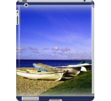 Waiting Boats iPad Case/Skin