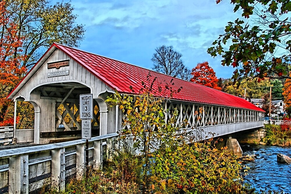 Ashuelot Bridge by DJ Florek