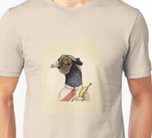 trendy guy pheasant with banana Unisex T-Shirt