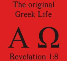 The Original Greek Life Baby Tee