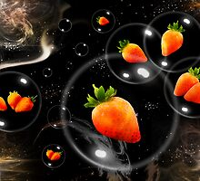 space strawberries  by dimarie