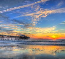 Sunrise in Garden City, SC_1 by Jamie317