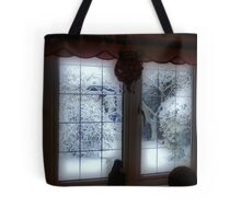 My Room...My Winter View... Tote Bag