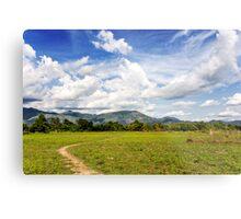 Rural Laos Metal Print