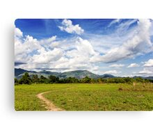 Rural Laos Canvas Print