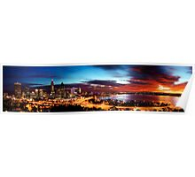 Perth Sunrise Edit II Poster