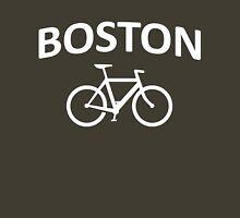 I Bike Boston - Fixie Design Unisex T-Shirt