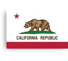California Flag Canvas Print