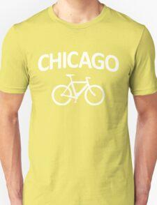 I Bike Chicago - Fixie Bike Design T-Shirt