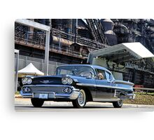 1958 Chevrolet Imapla Canvas Print