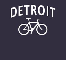 I Bike Detroit - Fixie Bike Design Zipped Hoodie