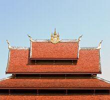 Temple roof by Juha Sompinmäki