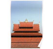 Temple roof Poster