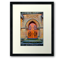 Eternity -St Michael the Archangel Chapel (commenced in 1886) - HDR  Series Framed Print