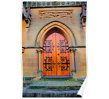 Eternity -St Michael the Archangel Chapel (commenced in 1886) - HDR  Series Poster