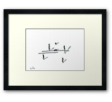 taiga plains Framed Print