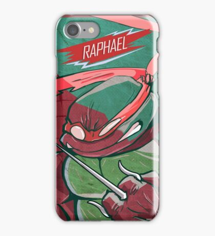 raphael TMNT iPhone Case/Skin