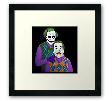 Step Jokers Framed Print