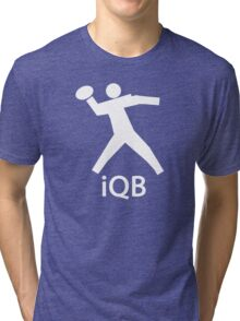 iQB WHITE Tri-blend T-Shirt