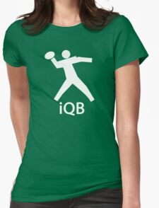 iQB WHITE Womens Fitted T-Shirt