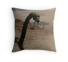Last Meal Throw Pillow