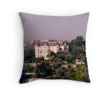 Enchanting castle Throw Pillow