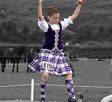 Highland Dancer by Alan Findlater