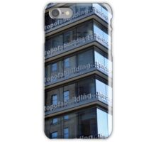 Lying On Top Of A Building, The Clouds Looked No Nearer Than When I Was Lying On The Street iPhone Case/Skin